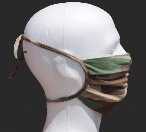 MUND- NASEN- Schutzmaske CAMOUFLAGE